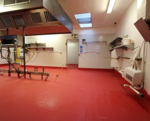 A Hotel Kitchen Floor, Completed in Overnight with Prokol Liquid Coatings
