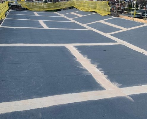 A Pitched Roof Prepared for Prokol's MonoSeal
